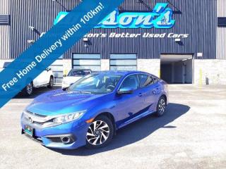 Used 2018 Honda Civic Sedan SE Sedan, Heated Seats, Bluetooth, Reverse Camera, Alloy Wheels & More! for sale in Guelph, ON