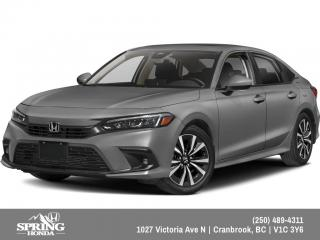 New 2022 Honda Civic EX for sale in Cranbrook, BC