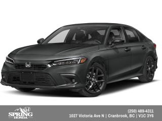 New 2022 Honda Civic Sport for sale in Cranbrook, BC