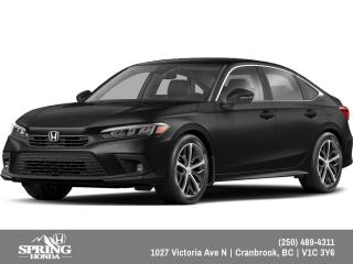 New 2022 Honda Civic Touring for sale in Cranbrook, BC