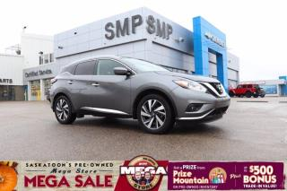 Used 2018 Nissan Murano Platinum -AWD, Remote Start, Leather, Sunroof for sale in Saskatoon, SK