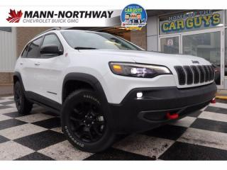 Used 2020 Jeep Cherokee Trailhawk   Heated Wheel, No Accidents. for sale in Prince Albert, SK