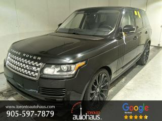 Used 2016 Land Rover Range Rover HSE TD6 I PANO I NAVI I NO ACCIDENTS for sale in Concord, ON