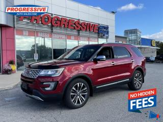 Used 2016 Ford Explorer Platinum for sale in Sarnia, ON