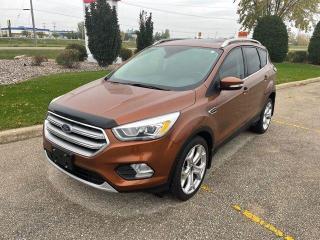Used 2017 Ford Escape Titanium for sale in Portage la Prairie, MB