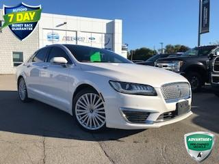 Used 2017 Lincoln MKZ Reserve TECH PACKAGE AWD PANORAMIC SUNROOF for sale in Hamilton, ON