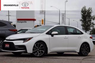 Used 2020 Toyota Corolla SE, APPLE CARPLAY, HEATED SEATS/STEERING, SUNROOF, LANE KEEPING ASSIST, ADAPTIVE CRUISE CONTROL for sale in Orangeville, ON