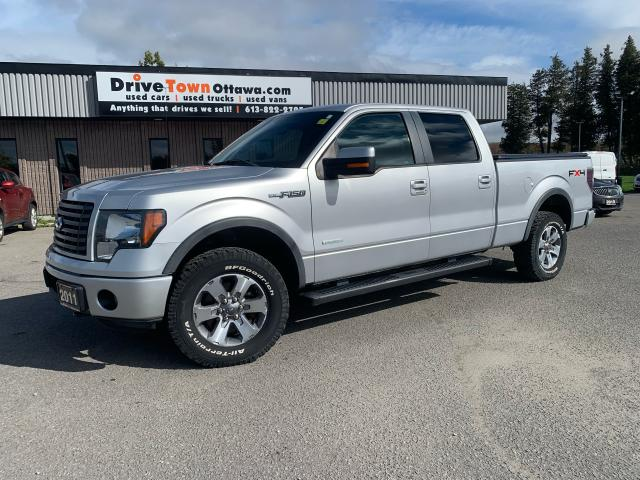 2011 Ford F-150 FX4 Crew Cab 4X4 **ONLY 75000KM**