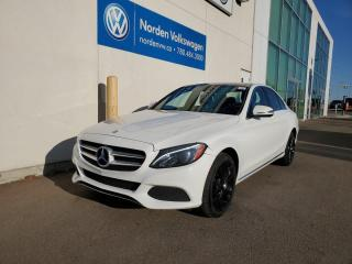 Used 2016 Mercedes-Benz C-Class C 300 4Matic AWD for sale in Edmonton, AB
