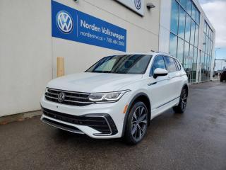 New 2022 Volkswagen Tiguan Highline R-line for sale in Edmonton, AB
