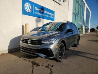 New 2022 Volkswagen Tiguan Comfortline R-Line Black Edition for sale in Edmonton, AB