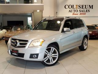 Used 2011 Mercedes-Benz GLK-Class 4MATIC GLK350 LEATHER-PANOROOF-2 SETS OF WHEELS for sale in Toronto, ON