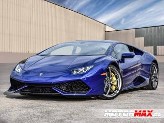 Used 2017 Lamborghini Huracan LP610-4-Accident Free for sale in Stoney Creek, ON