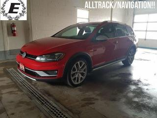 Used 2018 Volkswagen Golf Alltrack 4 MOTION/LEATHER/SUNROOF/NAVIGATION!! for sale in Barrie, ON