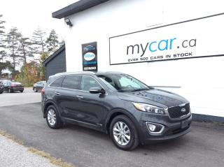 Used 2018 Kia Sorento 3.3L LX V6,7 PASS, BACKUP CAM. HEATED SEATS. A/C. ALLOYS. for sale in Richmond, ON