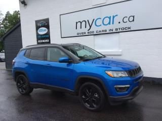 Used 2021 Jeep Compass Altitude LEATHER, NAV, PANOROOF, ALITITUDE PKG!! WOW!! for sale in Kingston, ON