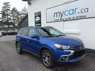 Used 2018 Mitsubishi RVR SE Limited Edition ALLOYS. BACKUP CAM. HEATED SEATS. A/C. POWER GROUP for sale in North Bay, ON