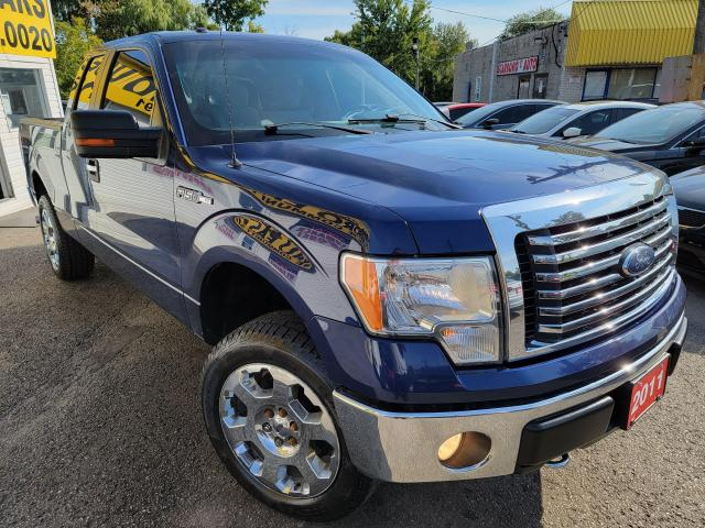 2011 Ford F-150 XLT/4WD/P.SEATS/BLUETOOTH/LOADED/ALLOYS