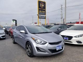 Used 2015 Hyundai Elantra No Accidents | 1 Owner | Auto GL | Certified for sale in Brampton, ON