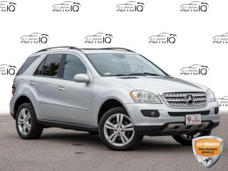 Used 2008 Mercedes-Benz ML-Class AS TRADED SPECIAL for sale in Welland, ON