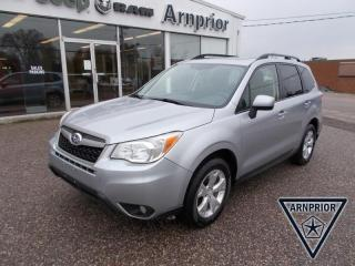 Used 2015 Subaru Forester 2.5i for sale in Arnprior, ON