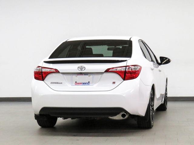 2016 Toyota Corolla S Backup Camera Heated Seats Sunroof