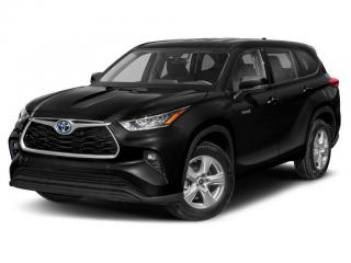 New 2021 Toyota Highlander HYBRID XLE for sale in Ancaster, ON