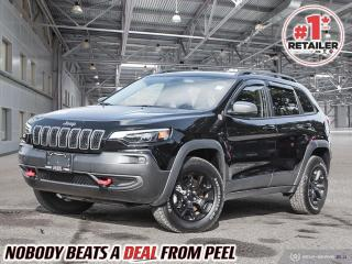 Used 2021 Jeep Cherokee Trailhawk for sale in Mississauga, ON