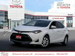 Used 2018 Toyota Corolla CE for sale in Ancaster, ON
