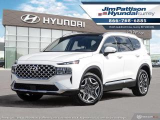 New 2022 Hyundai Santa Fe PLUG-IN HYBRID Luxury for sale in Surrey, BC