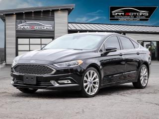 Used 2017 Ford Fusion PLATINUM for sale in Stittsville, ON