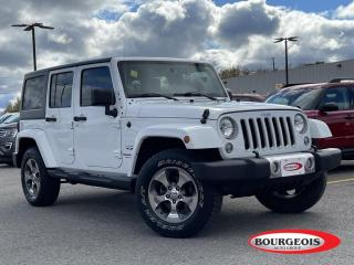 Used 2018 Jeep Wrangler JK Unlimited Sahara for sale in Midland, ON
