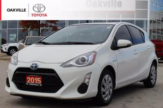 Used 2015 Toyota Prius c Toyota Certified with One Owner for sale in Oakville, ON