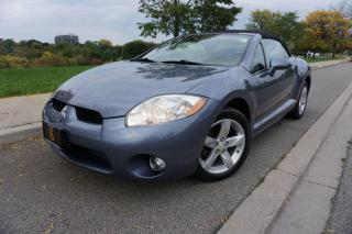 Used 2008 Mitsubishi Eclipse SPYDER / STUNNING SHAPE / LOW KM'S / MANUAL SHIFT for sale in Etobicoke, ON
