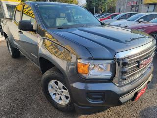 Used 2015 GMC Canyon EXTENDED CAB/POWER GROUPS/ALLOYS/CLEAN CAR FAX for sale in Scarborough, ON