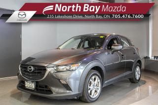 Used 2019 Mazda CX-3 GS AWD - Heated Seats - Heated Steering Wheel - Bluetooth for sale in North Bay, ON