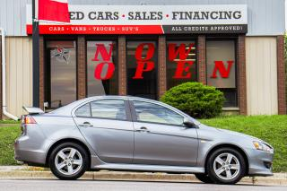Used 2014 Mitsubishi Lancer SE | Auto | Roof | Bluetooth | Skirt Pkg | Spoiler for sale in Oshawa, ON