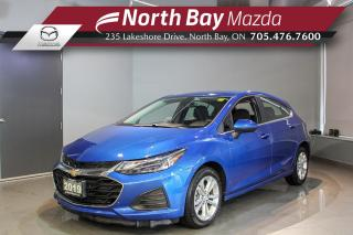 Used 2019 Chevrolet Cruze LT Heated Seats - Parking Sensors - Bluetooth for sale in North Bay, ON