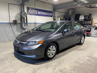 Used 2012 Honda Civic Sdn 4DR MAN LX for sale in Kingston, ON