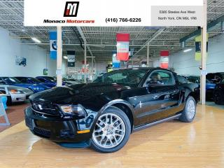 Used 2012 Ford Mustang V6 - PONY PKG |LEATHER |SHAKER |HEATED SEATS for sale in North York, ON
