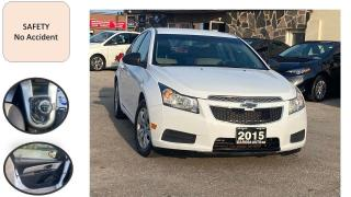 Used 2015 Chevrolet Cruze 4dr Sdn 5spd Manual safety NO ACCIDENT PW PL PM for sale in Oakville, ON