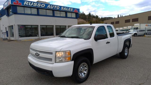 2008 Chevrolet Silverado 1500 WT 4x4 Extended Cab, 6ft 6in Box