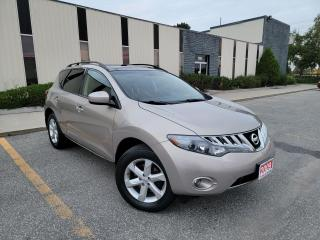Used 2009 Nissan Murano SL,AWD,PANAROMIC ROOF,BACKUP CAMERA,CERTIFIED for sale in Mississauga, ON