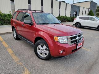 Used 2010 Ford Escape XLT,LEATHER & HEATED SEATS,ALLOY WHEELS,CERTIFIED for sale in Mississauga, ON