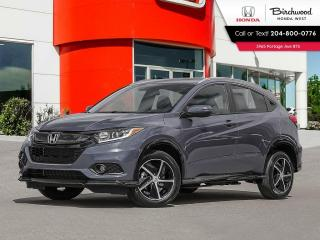 New 2022 Honda HR-V Sport for sale in Winnipeg, MB