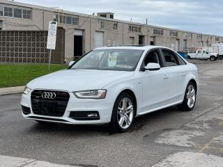Used 2015 Audi A4 Technik plus Navigation/Sunroof/Blind Spot/Camera for sale in North York, ON