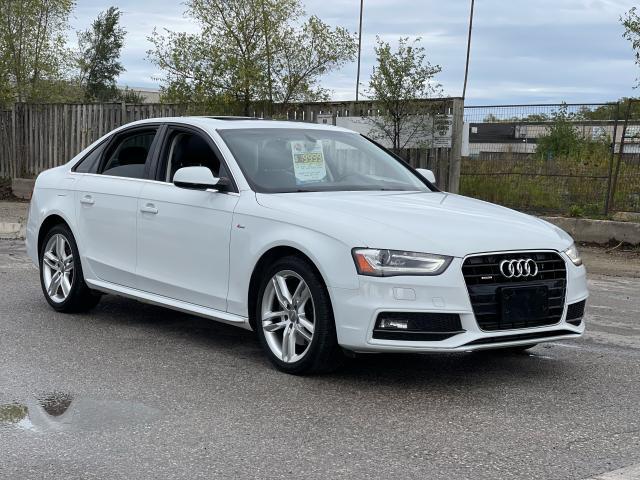 2015 Audi A4 Technik plus Navigation/Sunroof/Blind Spot/Camera Photo7