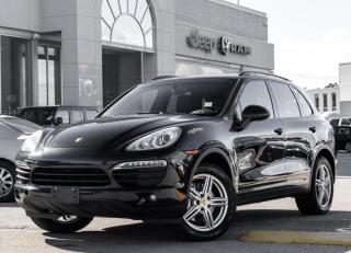 Used 2013 Porsche Cayenne S AWD Navigation /Sunroof/Blind Spot/Camera for sale in North York, ON
