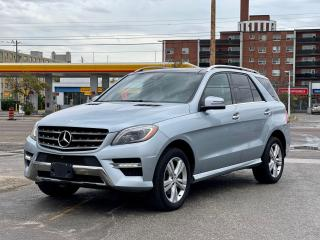Used 2015 Mercedes-Benz M-Class ML 350 BlueTEC Navigation/Panoramic Sunroof/Camera for sale in North York, ON