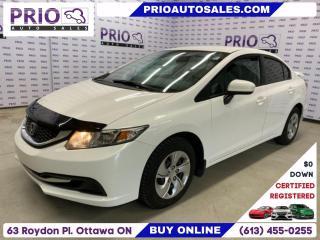 Used 2015 Honda Civic Sedan 4dr Auto LX for sale in Ottawa, ON